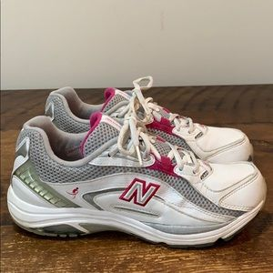 New Balance Komen Pink Classic Walking Shoes